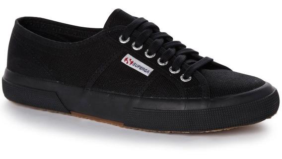 Zapatillas Mujer Full Black Superga Cotu Classic 2750