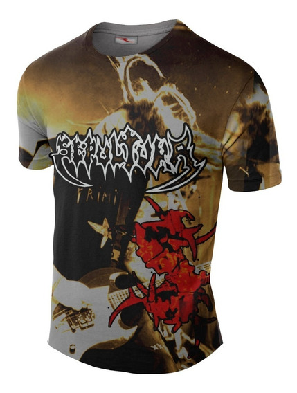 Remera Sepultura Metal Ranwey Cs497