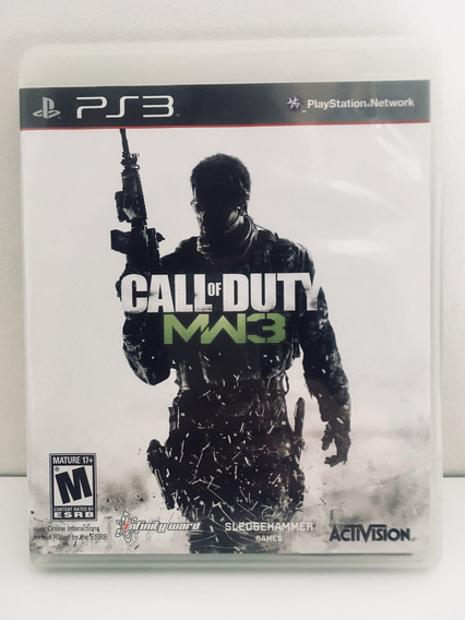Call Of Duty Mw3 Jogo Ps3 Game Playstation