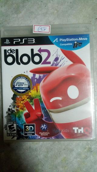 Jogo Sony Ps3 De Blob 2 Original Lacrado Lote177