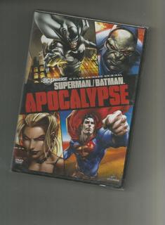 Superman E Batman Apocalypse Dvd Lacrado