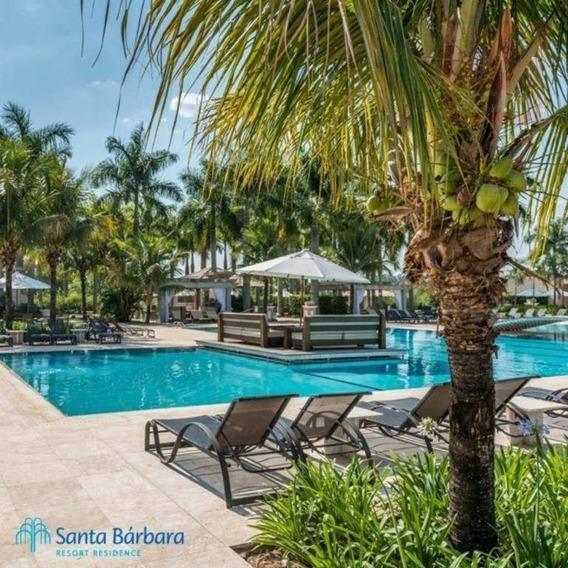 Terreno À Venda, 450 M² Por R$ 85.000,00 - Santa Bárbara Resort Residence - Águas De Santa Bárbara/sp - Te0746