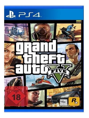 Imagen 1 de 5 de Grand Theft Auto V Standard Edition Rockstar Games PS4 Físico