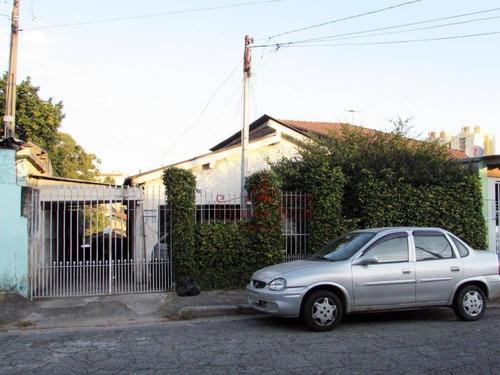 Casa Com 3 Dormitórios À Venda, 270 M² Por R$ 600.000,00 - Parque Maria Domitila - São Paulo/sp - Ca0027