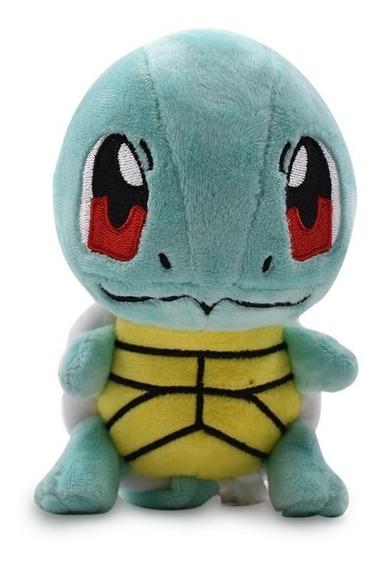 Pelúcia Turma Pokémon Squirtle Mini (15cm) - Importada