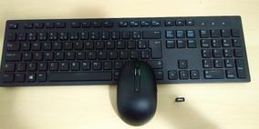 Teclado E Mouse Wireless Dell Wm527 - Km636