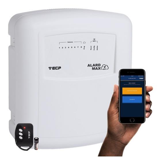 Central De Alarme Ecp Com Internet Wireless iPhone E Android