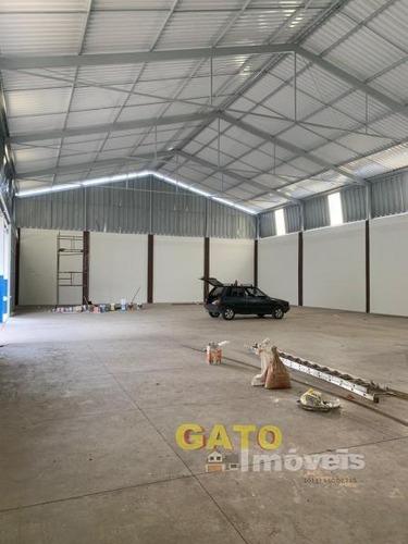 Galpão Para Locação Em Santana De Parnaíba, Chácara Do Solar I (fazendinha), 4 Banheiros - 19225_1-1320855
