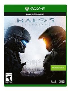 Xbox One Halo 5 Español Latino Nuevo Y Sellado