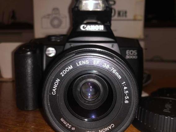 Câmera Fotográfica Canon Eos 5000 Analógica (não É Digital)