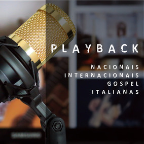 Pacote De Playbacks Mp3 - Áudio Profissional - Download
