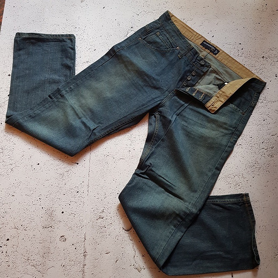 Jean Kevingston Hombre Sise 44 Recto Art 7070 Impecable