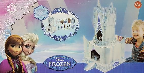 Juguete Castillo Frozen P/ Armar Cartón Alta Resistencia