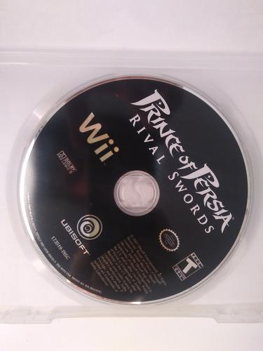 Prince Of Persia Rival Sword Nintendo Wii Game Jogo Original