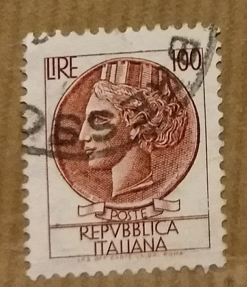 Estampilla Italiana 1960