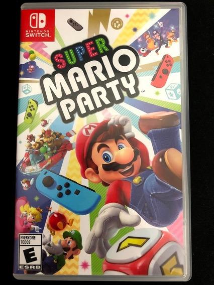 Super Mario Party Switch Midia Física