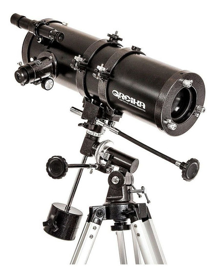 Telescópio Profissional Greika Equatorial 1000x114mm