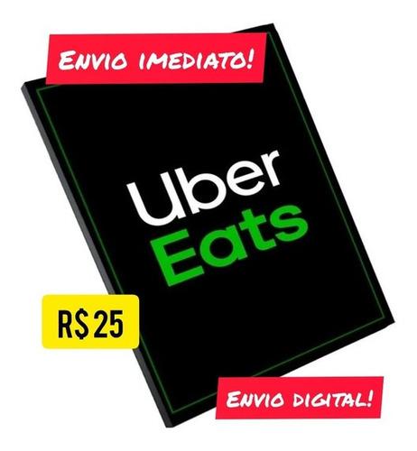 Gift Card Uber 25,00
