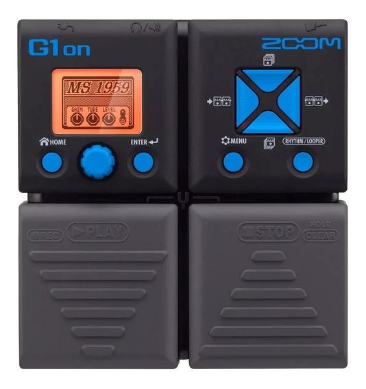 Pedaleira Zoom G1on Multi-efeitos P/ Guitarra