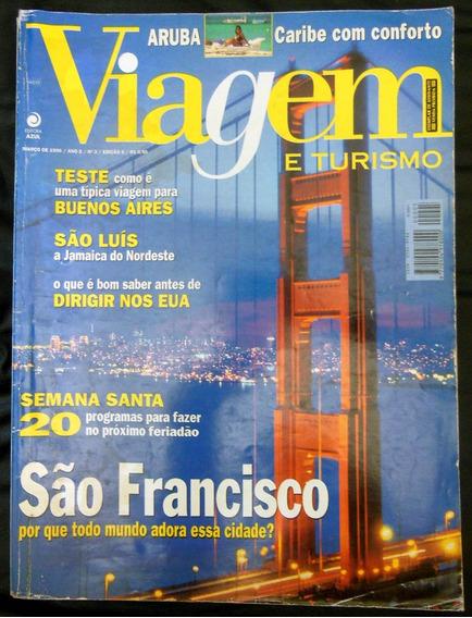 Revista Viagem E Turismo 5 São Francisco Aruba São Luis 1996