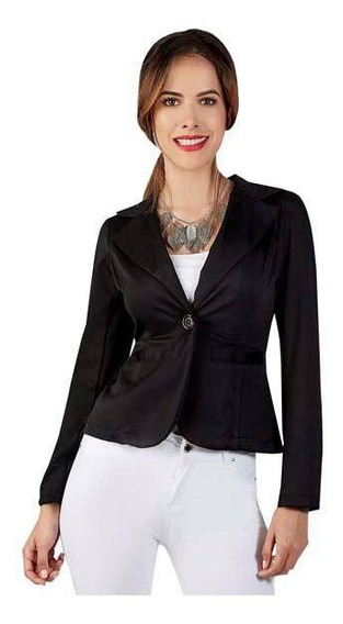 Saco Blazer Para Dama Elegante A La Moda 015413 Mundo Terra