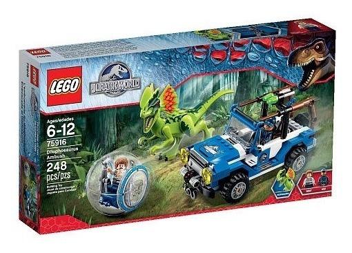 Lego Jurassic World Dilophosaurus Ambush 75916