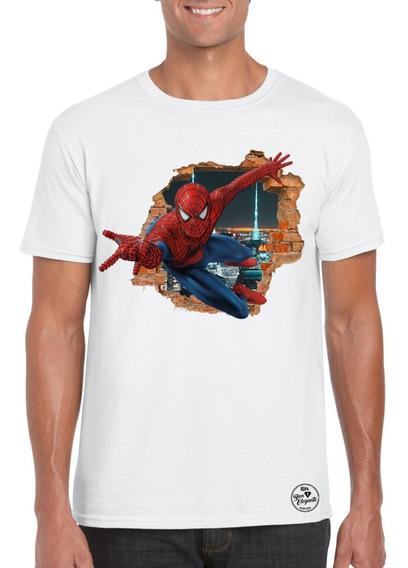 Playera Bien Elegante Avengers Spider Man Para Adulto Msi