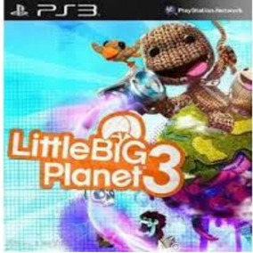 Little Big Planet 3 Ps3 Dublado Br - Cod Psn Via Email