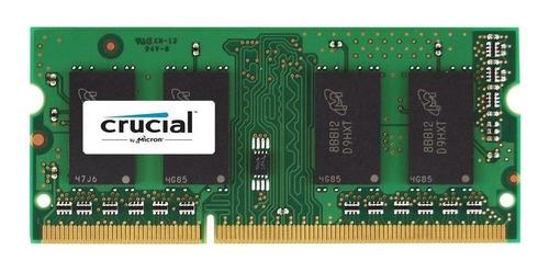 Imagen 1 de 2 de Memoria Ram 4gb Ddr3l-1333mhz Crucial Certificada Mac