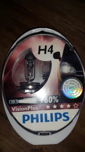 Halogeno H4 P43 Philips 60%+luz  60w55