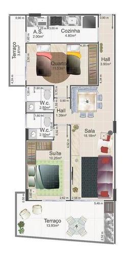 Apartamento - Venda - Flórida - Praia Grande - Pc2
