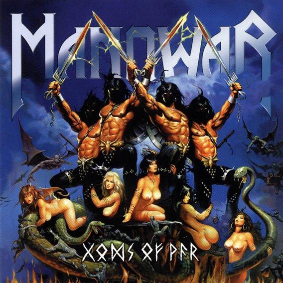 Manowar Gods Of War Cd Nuevo Sellado Icarus