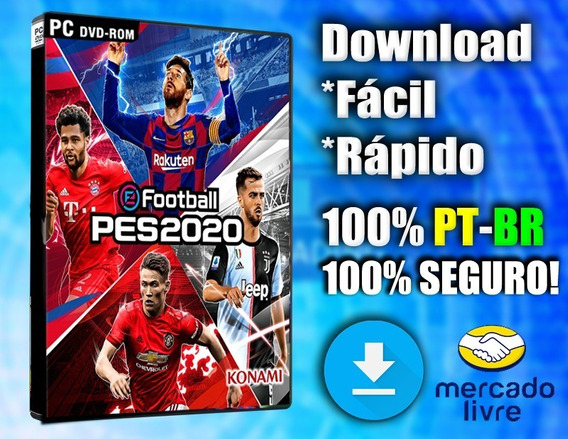 Pes 2020 - Pc - Completo 100% Pt-br Digital!