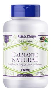 Calmante Natural Passiflora Mulungu Cidreira Valeriana 60cps