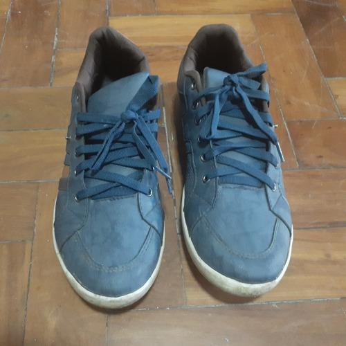 Sapatênis Dafiti Shoes Azul Tamanho 41