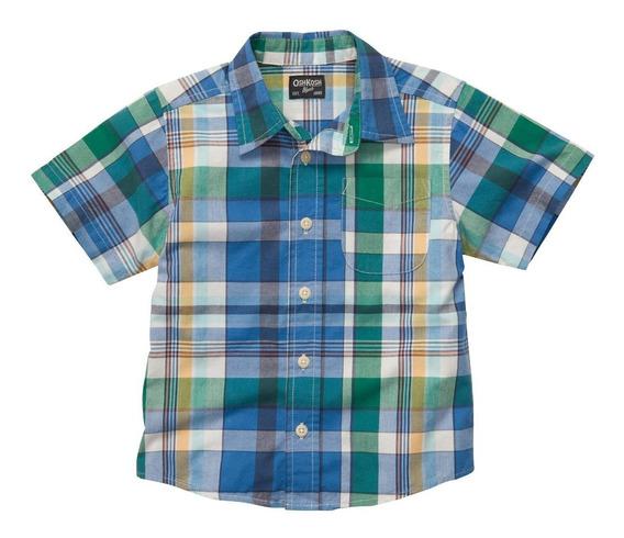 Oshkosh Camisa Manga Corta Niños / 100% Original 50% Off