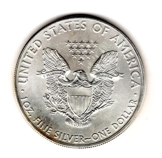 Bkz / Estados Unidos: Dollar Onza Plata 999 American Eagle