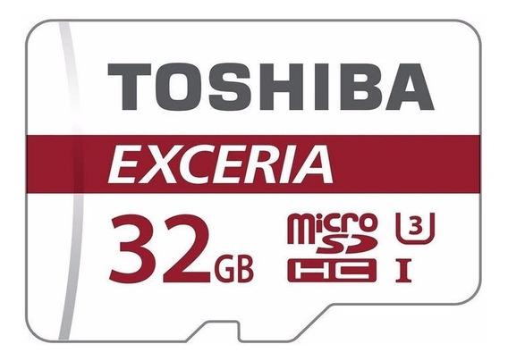 Cartao Memoria Toshiba Micro Sdhc Sd C10 U3 90mb/s 4k 32gb