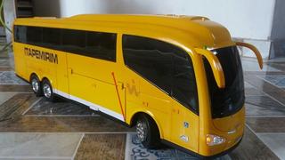Miniatura De Ônibus Com Controle Remoto E Iluminação