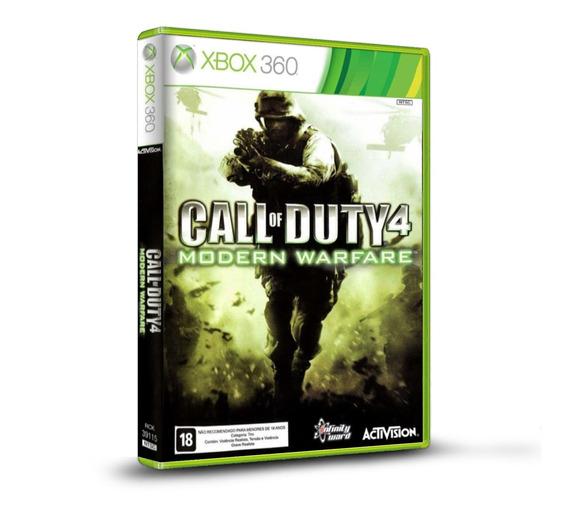 Call Of Duty 4 Modern Warfare - Novo Original Para Xbox 360