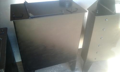 Calefactores A Leña En Hierro De 5mm