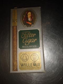 Caja Cigarrillos Carton Vacia Filger Cigar Willem Ll Perfec