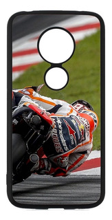 Funda Marc Marquez Moto G5 G6 E6 Plus Play G7 Power Case Tpu