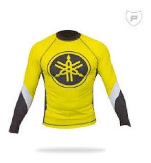 Camisa 2° Pele Yamaha Com Proteção Uv