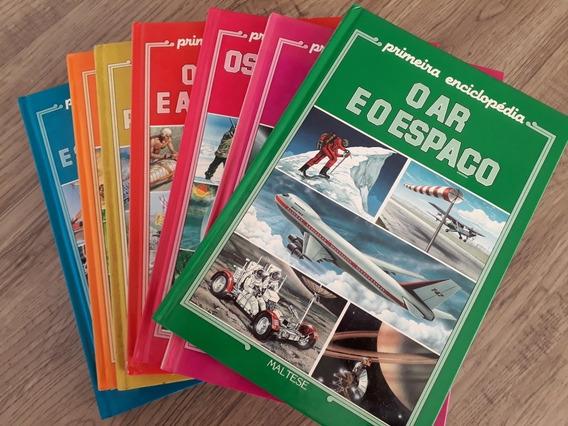 Coleção Primeira Enciclopédia 7-14 Anos Completa (8vol) 1990