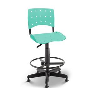 Cadeira Caixa Secretária Balcão Portaria Ergoplax Acquamarin