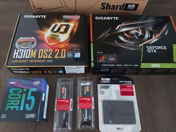Pc Games I5 9f 8gb 480 Gb Ssd