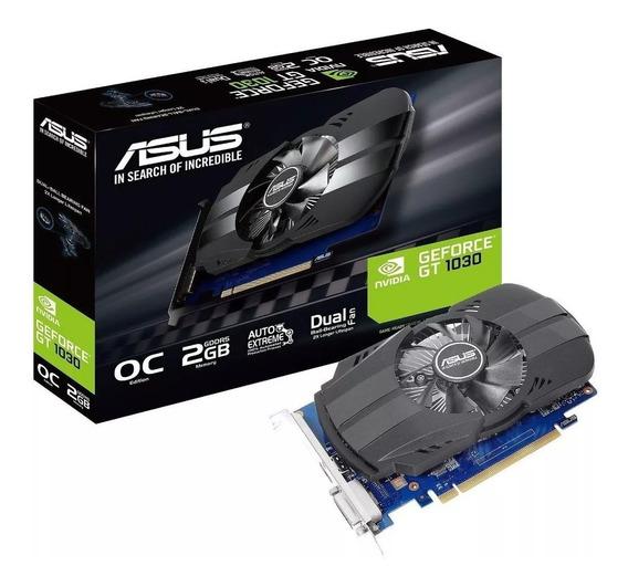 Placa De Video Asus Geforce Gt 1030 2gb Ddr5 Phoenix Oc !!