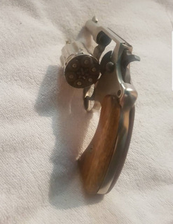 Funda Forro Cuero Revolver 38 Cuero *vendo O Cambio*