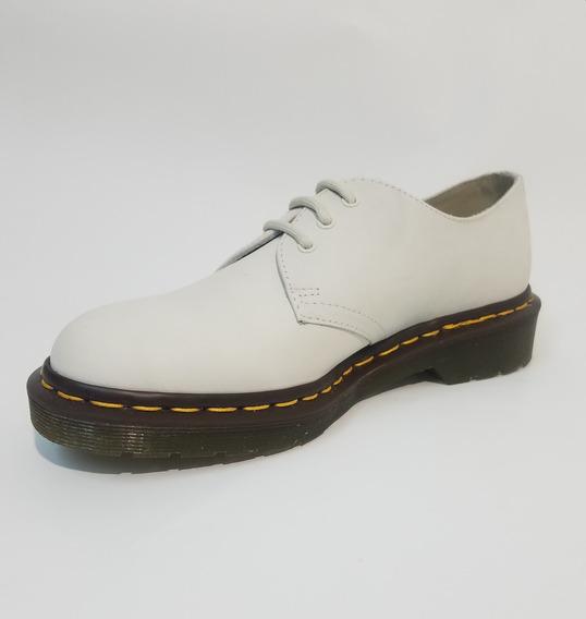 Zapato Dr Martens 1461 Tan Mujer Original
